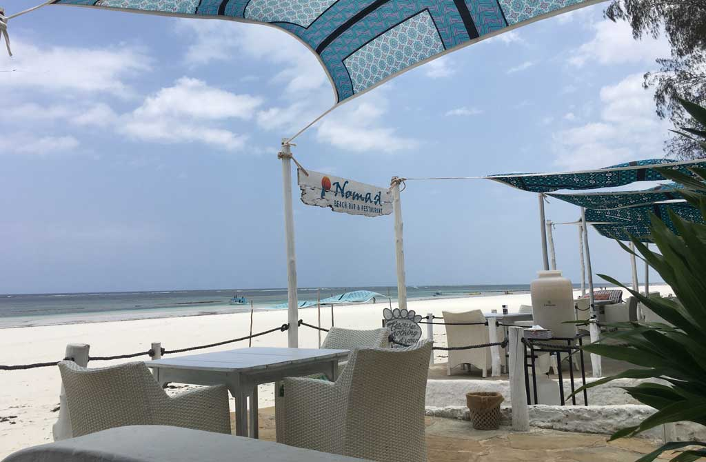 Sands at Nomad, beach restaurant, Diani, Kenya