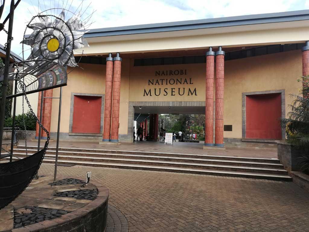 Nairobi National Museum - front