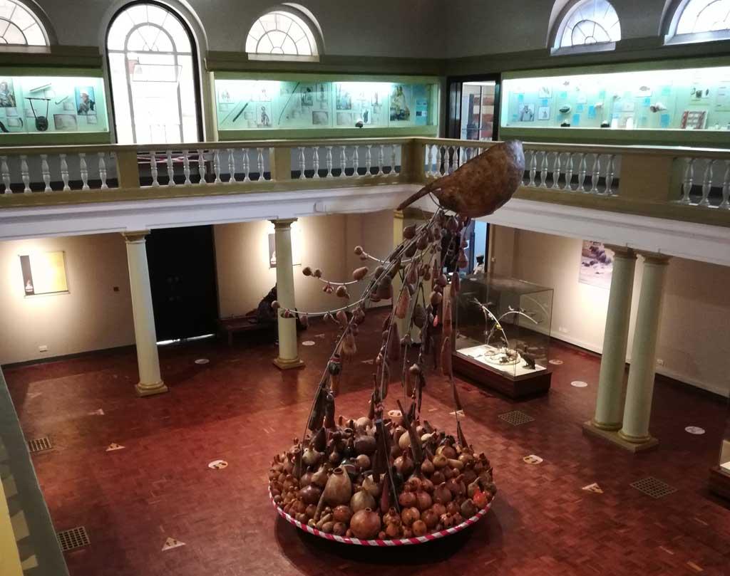 Nairobi National Museum - inside